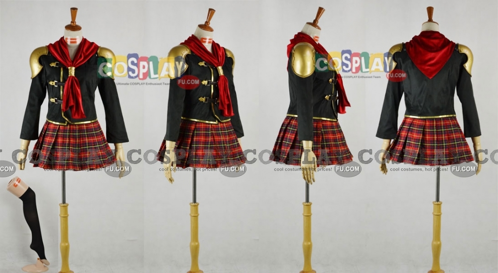 Final Fantasy Type-0 Cinque Costume (B129)