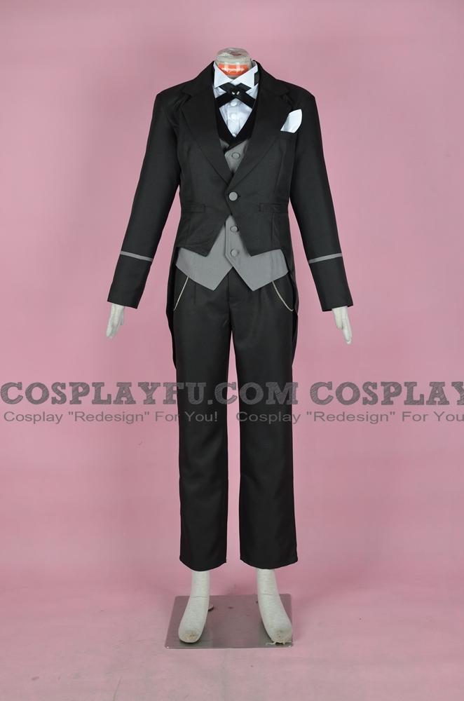 Claude Cosplay Costume from Kuroshitsuji II