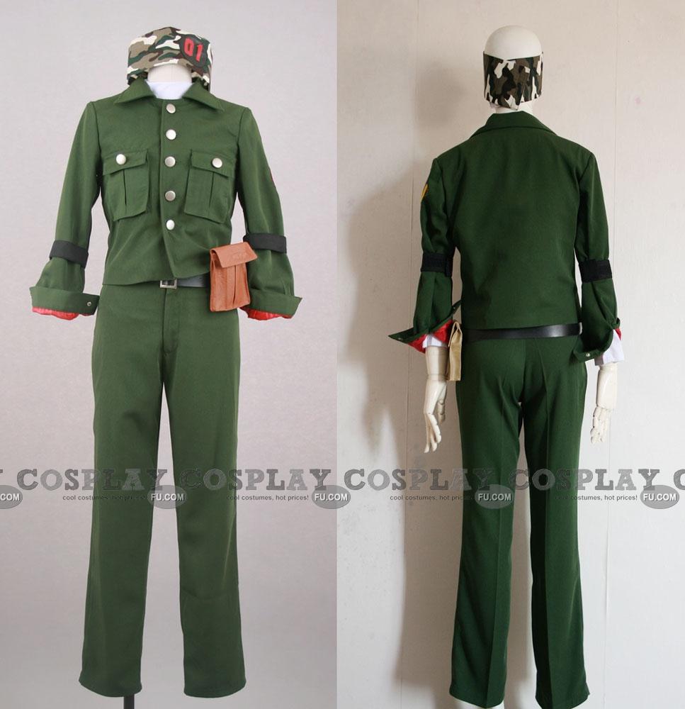 Colonnello Cosplay Costume from Reborn