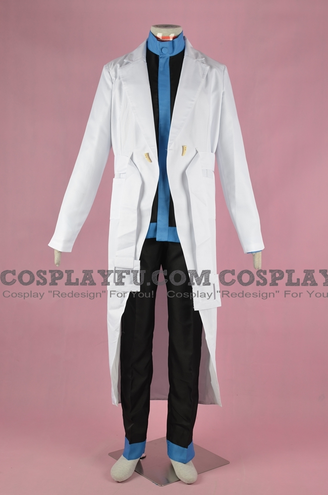 Colress Cosplay Costume from Pokemon Best Wishes