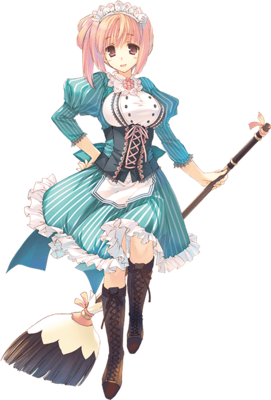 Conet Cosplay Costume from Dungeon Travelers 2 The Royal Library and The Monster Seal