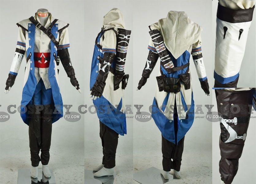 Connor Cosplay Costume from Assassins Creed