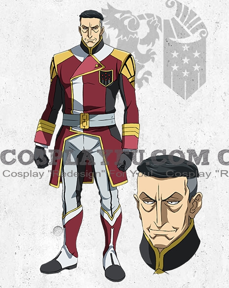 Coral Cosplay Costume from Mobile Suit Gundam Iron Blooded Orphans