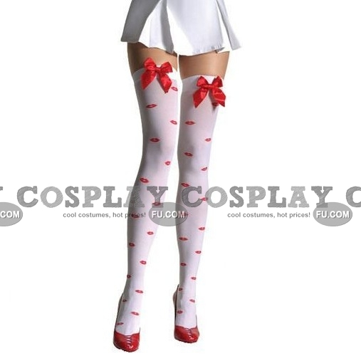 Bas Costume (White 05)