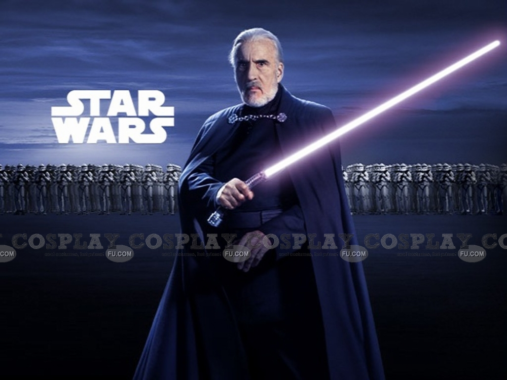 Count Dooku Cosplay Costume from Star Wars