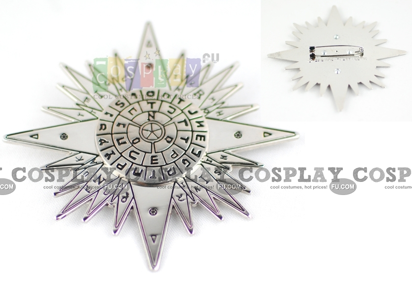 D Gray Man Cross (Brooch) from D Gray Man