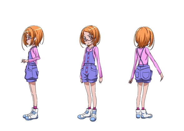 Cure Muse Cosplay Costume (Child) from Suite PreCure