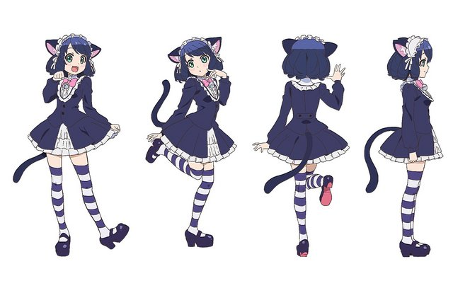 Cyan Cosplay Costume from Show by Rock!!