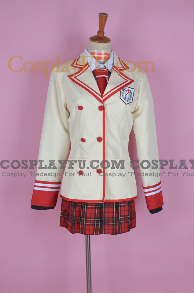 D ne Cosplay Costume from The Shuuen no Shiori Project