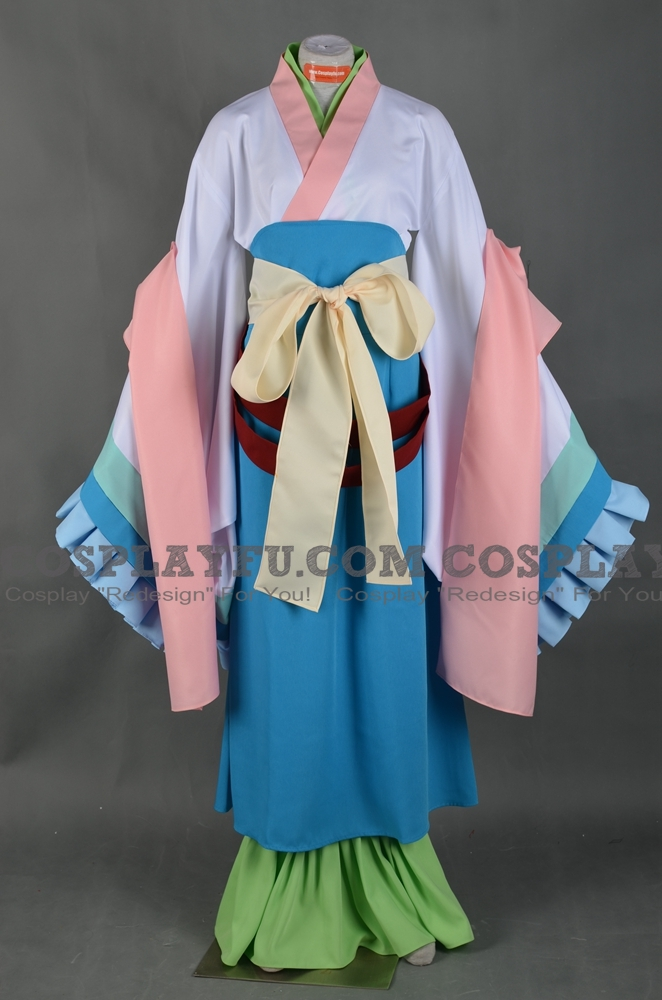 Daji Cosplay Costume from Hozuki no Reitetsu