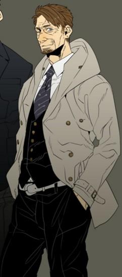 Daniel Cosplay Costume from Gangsta.
