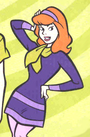 Daphne Cosplay Costume from Scooby Doo