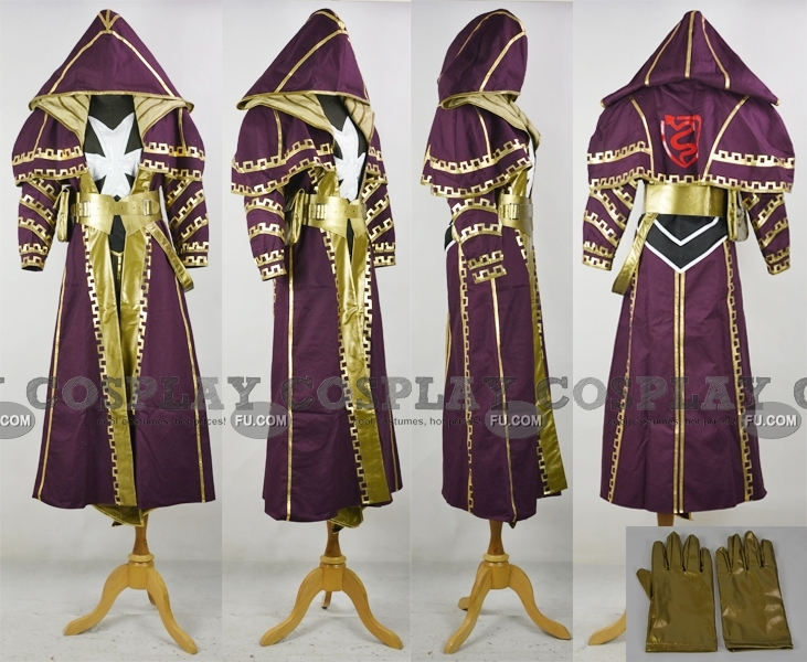 Deacon Cosplay Costume from Assassins Creed Revelations