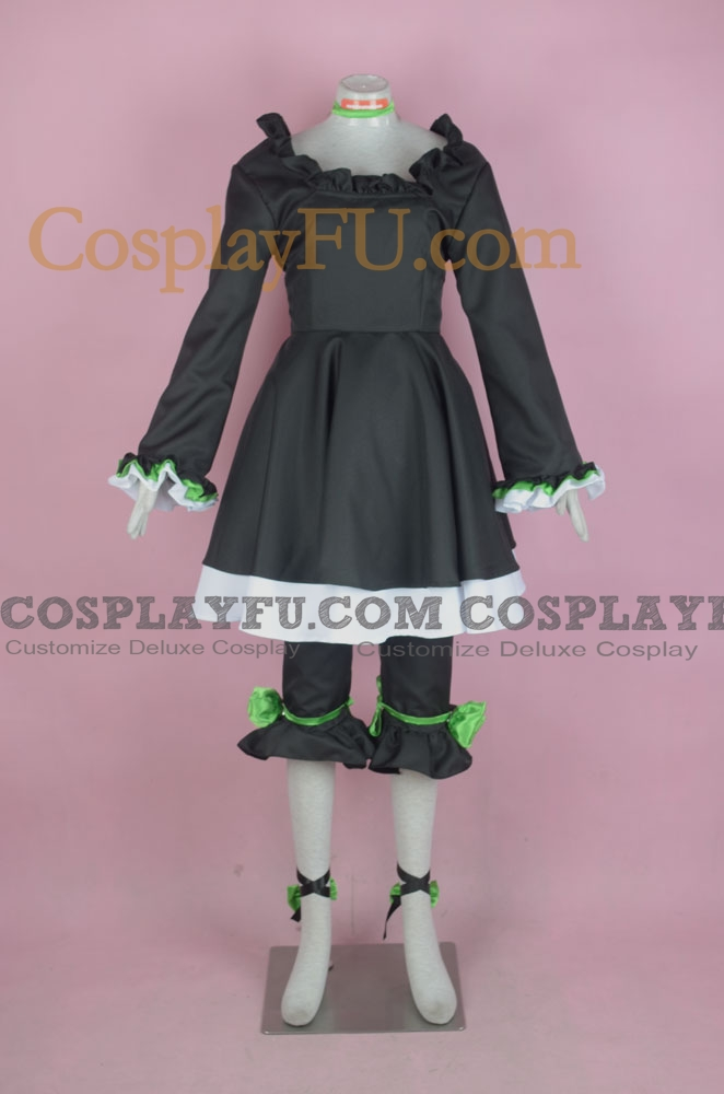 Dead Master Cosplay Costume from Black Rock Shooter