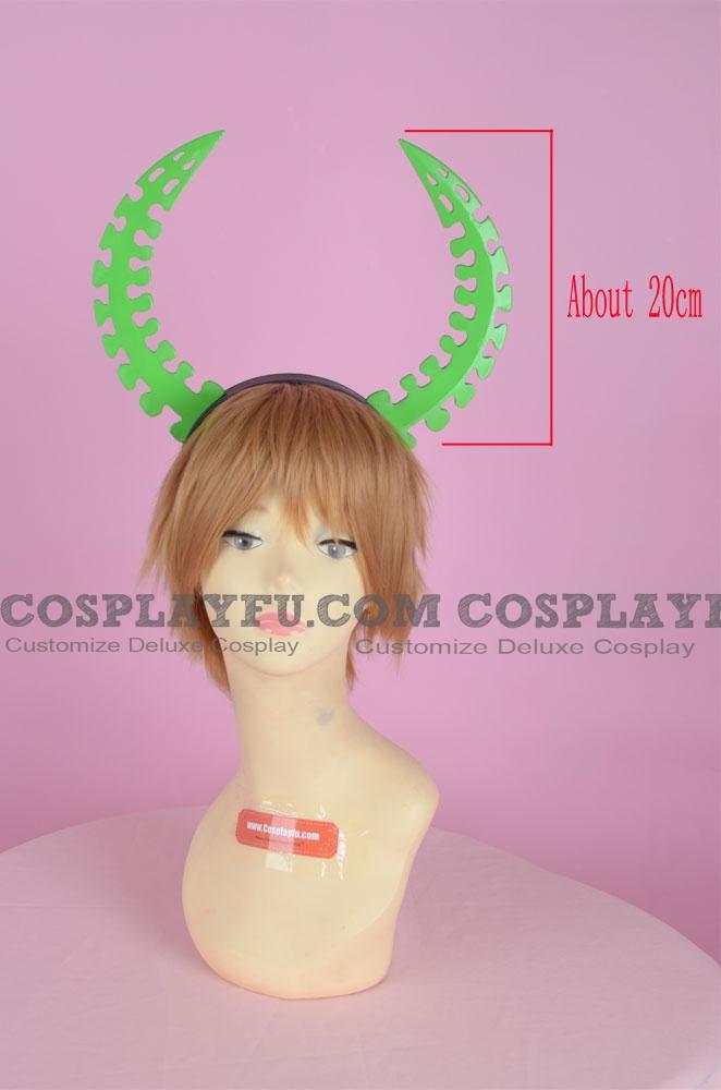 Dead Master Headwear (Green) from Black Rock Shooter