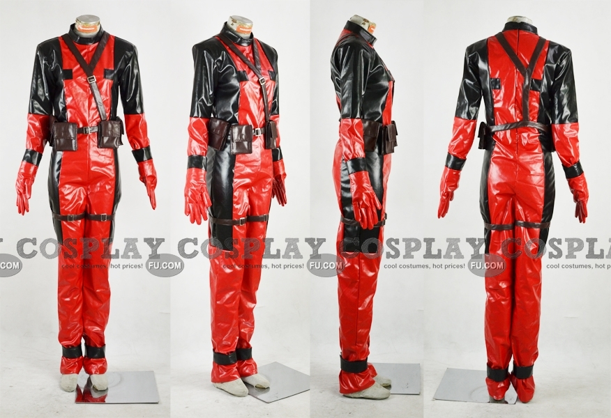 Deadpool Cosplay Costume (2nd) from X-men