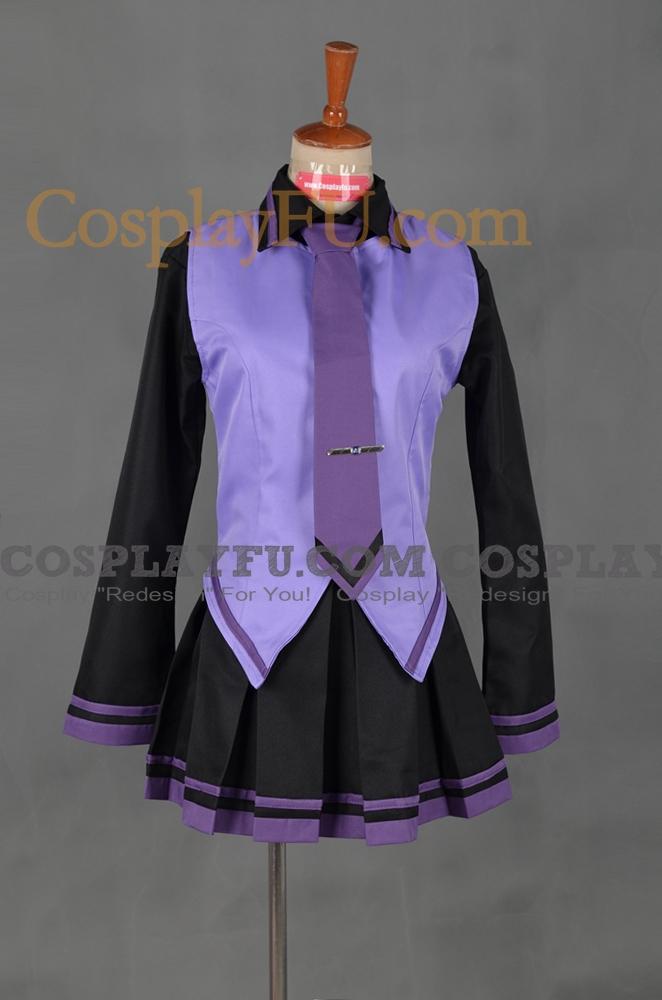 Defoko Cosplay Costume from Utauloid