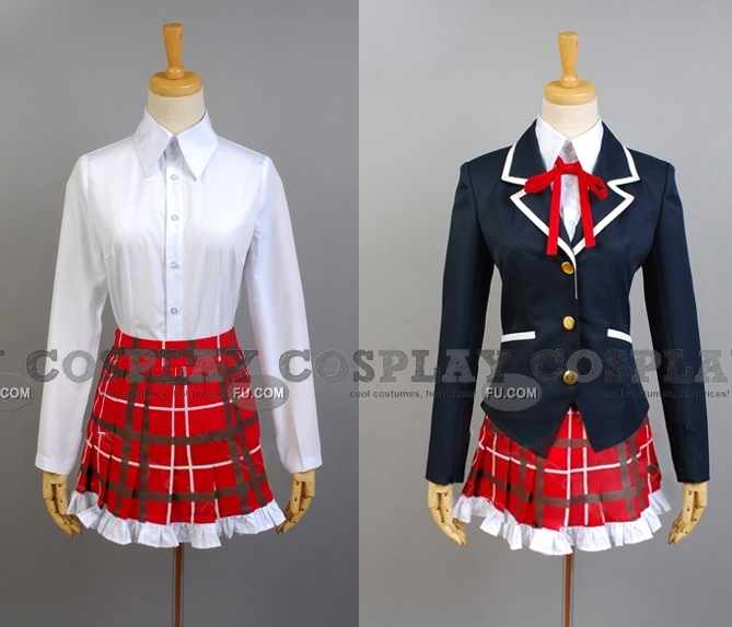 Dekomori Cosplay Costume from Love Chunibyo and Other Delusions