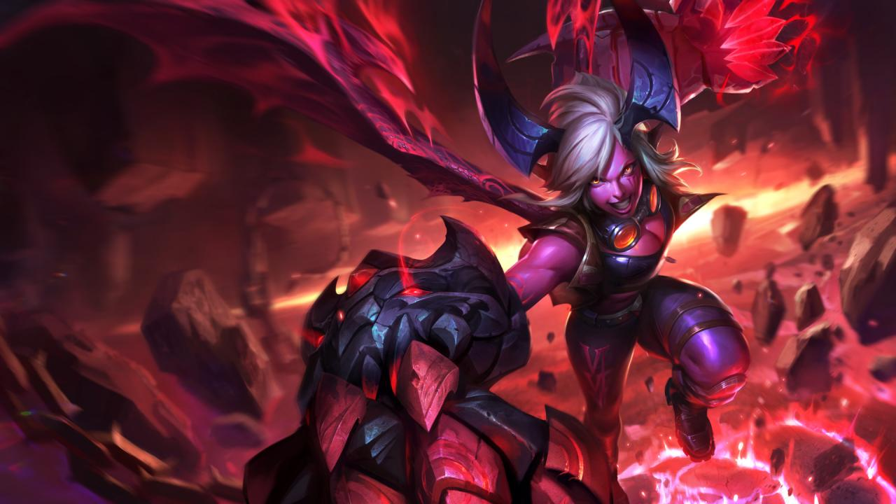 Demon Vi Cosplay Costume from League of Legends