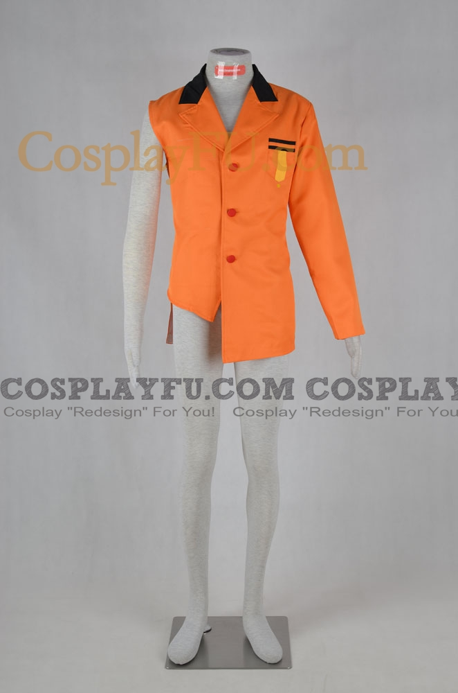 Dennis Cosplay Costume from Yugioh arc-v