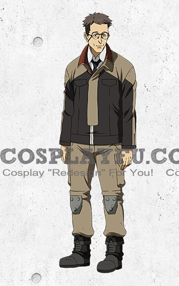Dexter Cosplay Costume from Mobile Suit Gundam Iron Blooded Orphans