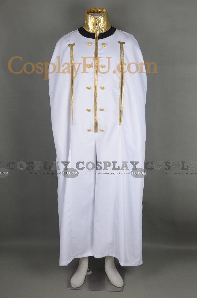 Dio Eraclea Cosplay Costume (Jumpsuit) from Last Exile