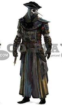Custom Doctor Cosplay Costume From Assassins Creed Cosplayfu Com