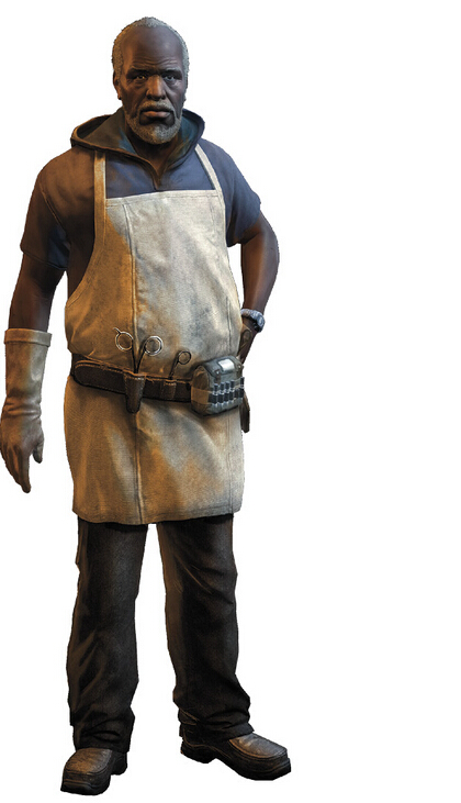 Doctor Zere Cosplay Costume from Dying Light