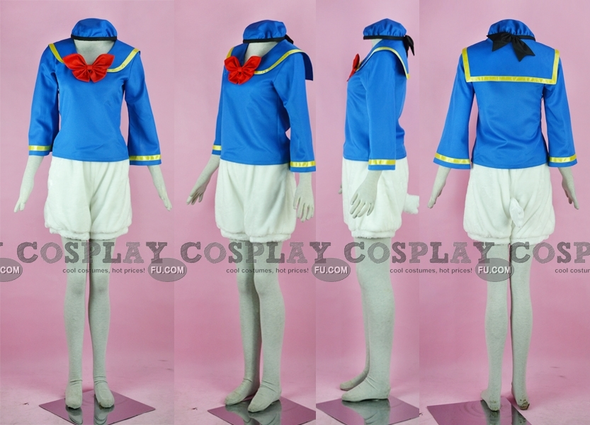 Donald Duck Cosplay Costume from Mikey Mouse