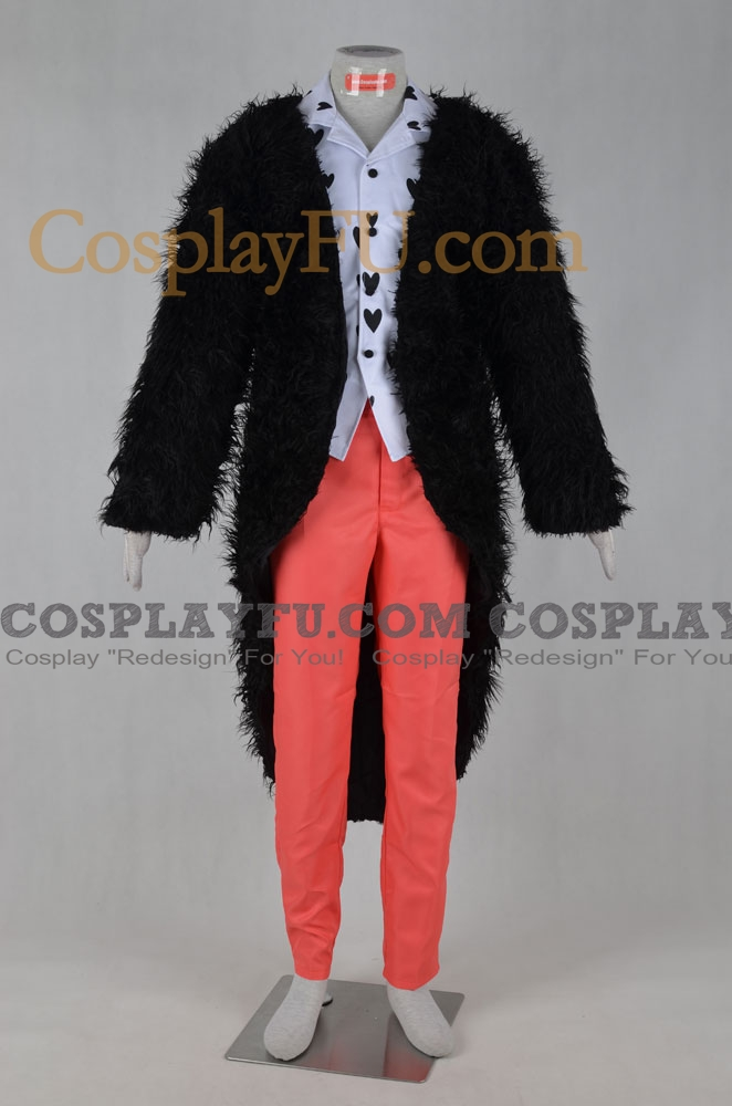 Donquixote Cosplay Costume from One Piece