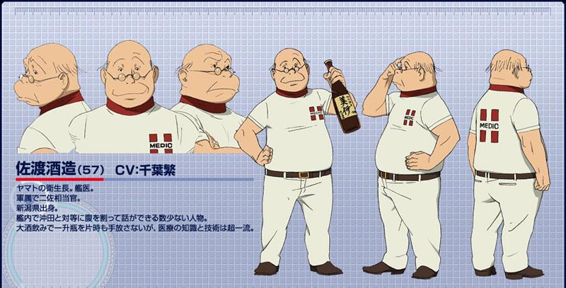 Uchuu Senkan Yamato 2199 Dr. Sakezo Sado Costume