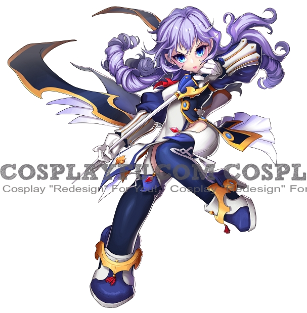 Edel Frost Cosplay Costume from Grand Chase