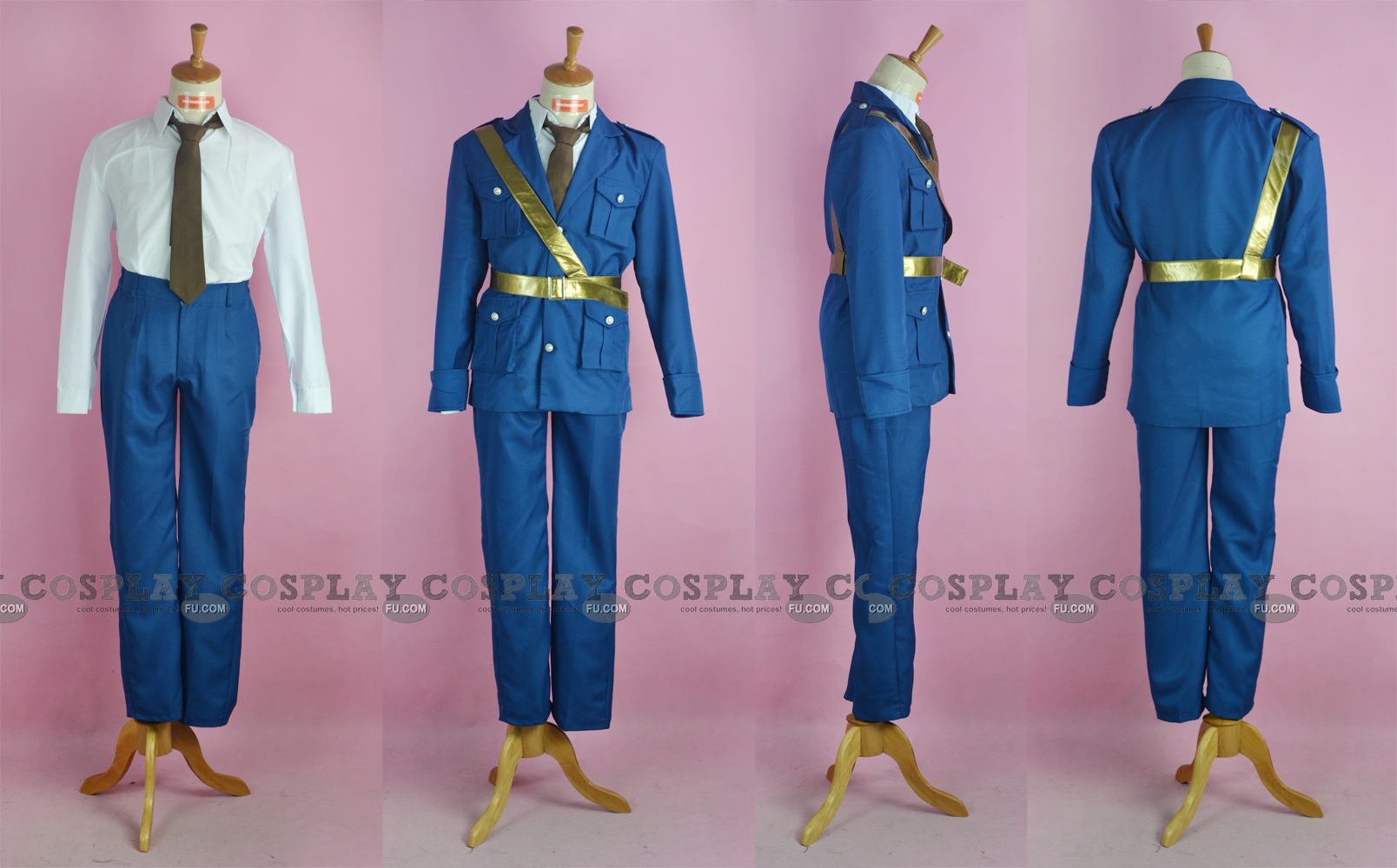 Eduard Cosplay Costume (Estonia) from Axis Powers Hetalia