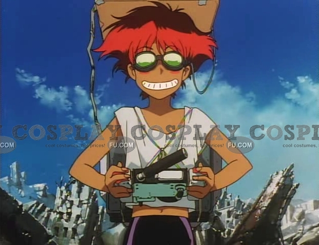 Edward Cosplay Costume from Cowboy Bebop
