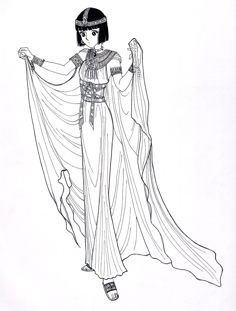 Egyptian Cosplay Costume from Crest of the Royal Family