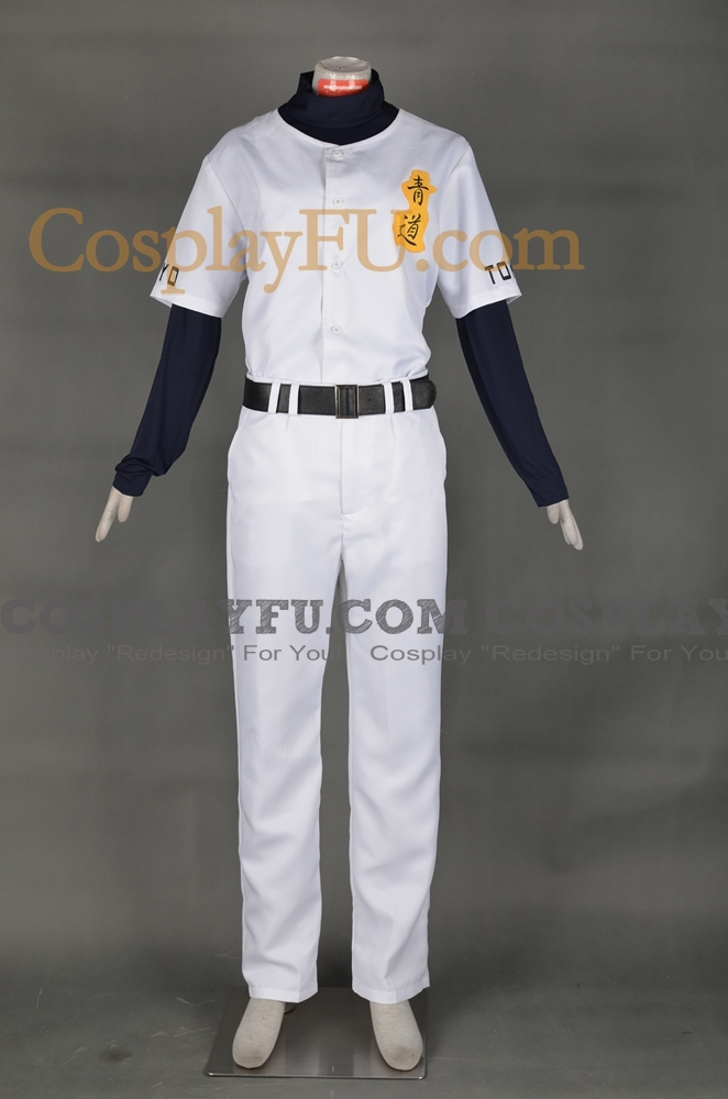 Eijun Cosplay Costume from Ace of Diamond