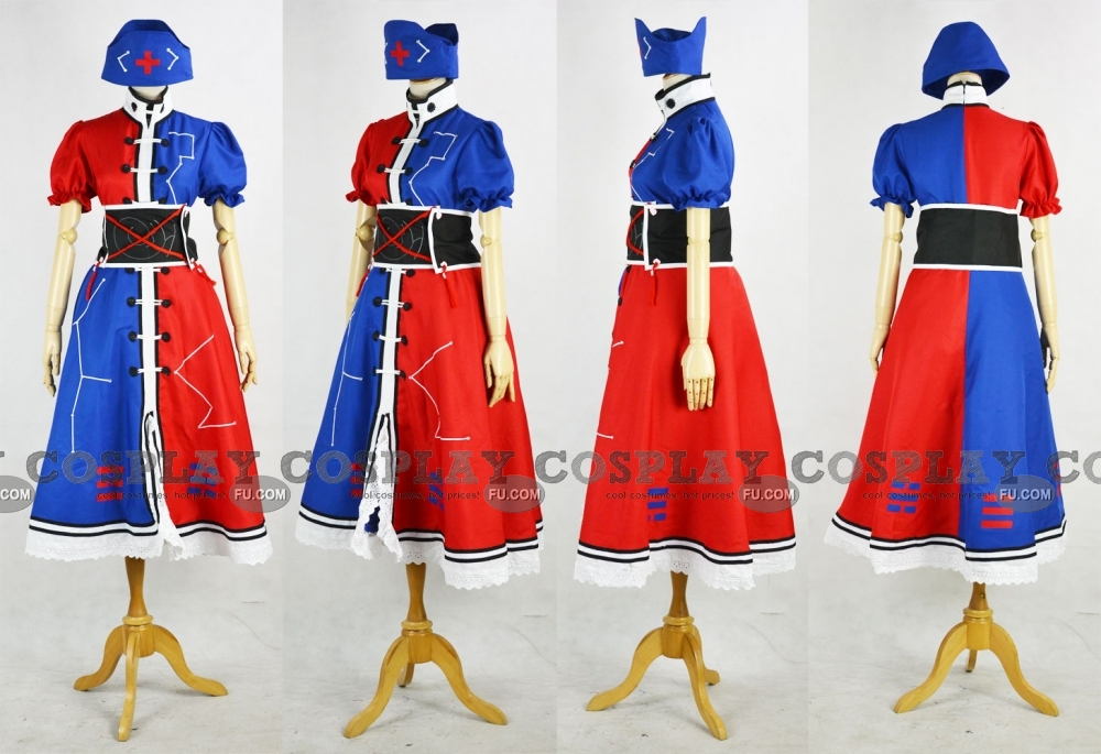Eirin Cosplay Costume (Imperishable Night) from Touhou Project