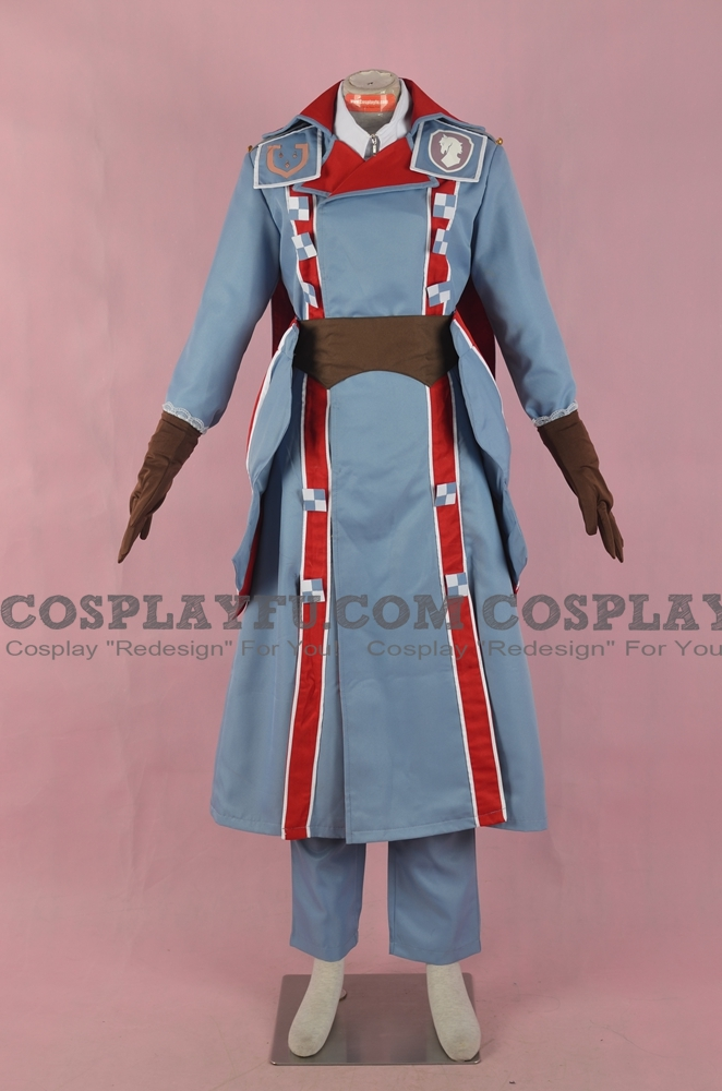 Eleanor Cosplay Costume from Valkyria Chronicles