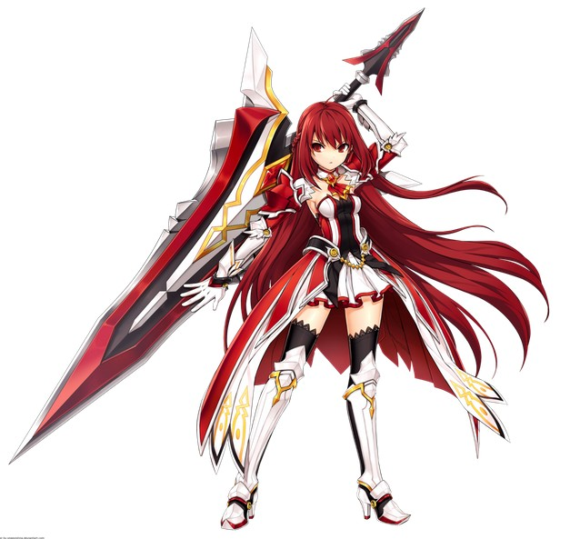 Elesis Cosplay Costume from Grand Chase