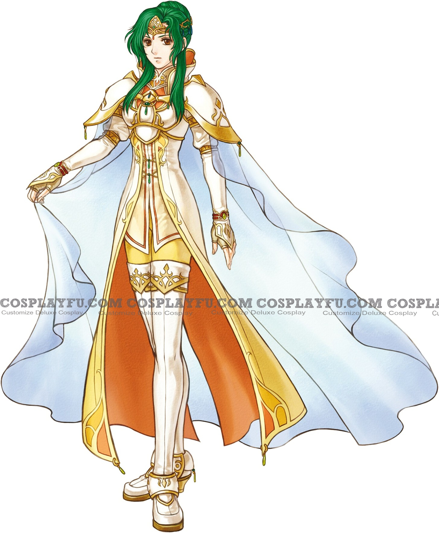 Elincia Cosplay Costume from Fire Emblem: Radiant Dawn