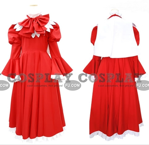 Elliy Cosplay Costume from Touhou Project