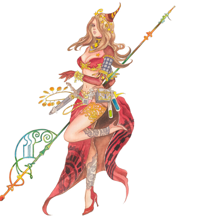 Eloise Cosplay Costume from The Legend of Legacy