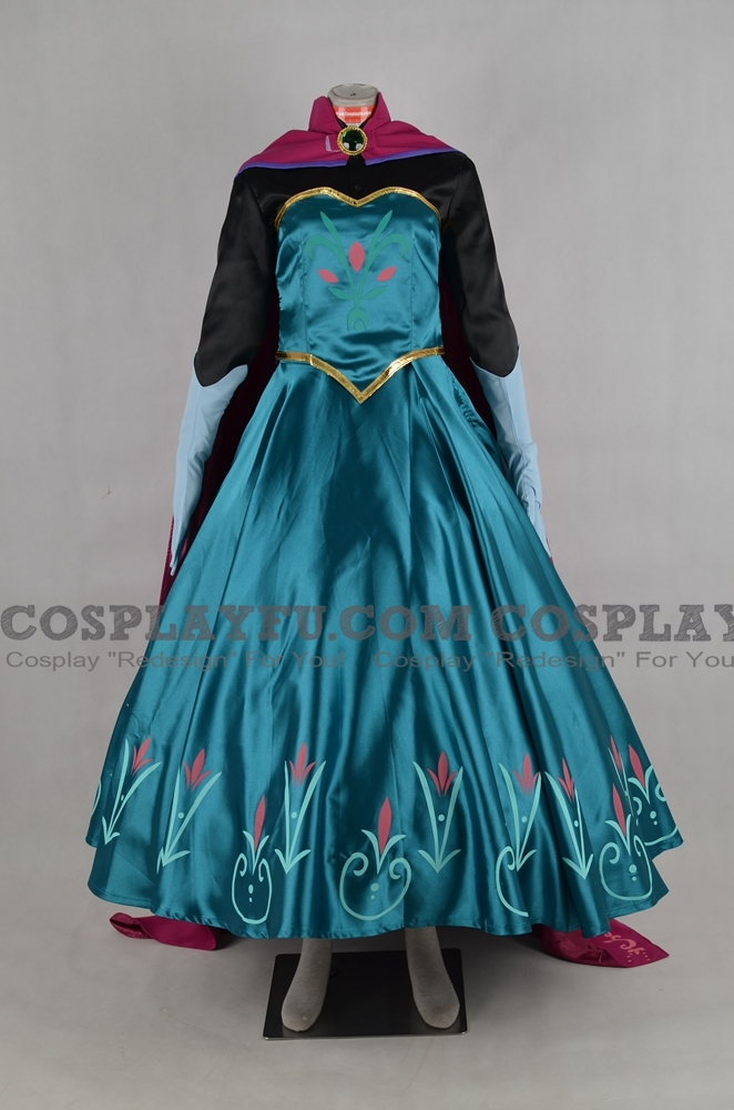 Elsa Cosplay Costume from Frozen
