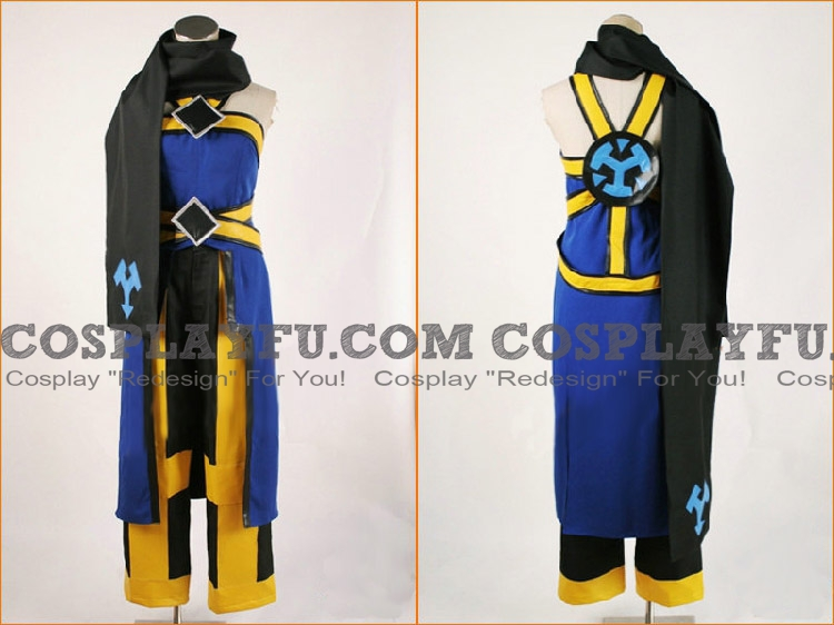 Emil Cosplay Costume from Tales of Symphonia