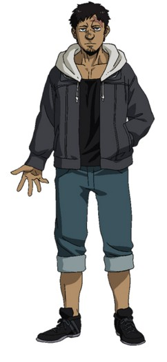 Emilio Cosplay Costume from Gangsta.