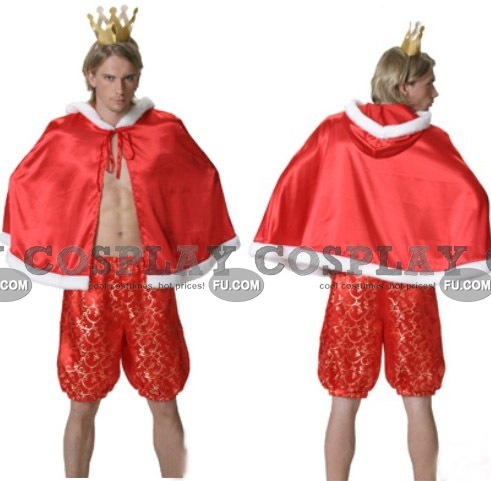 Emperor Cosplay Costume (Halloween) from The Emperors New Clothes