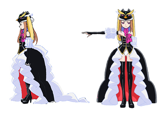 Esmeralda Cosplay Costume from Mawaru-Penguindrum