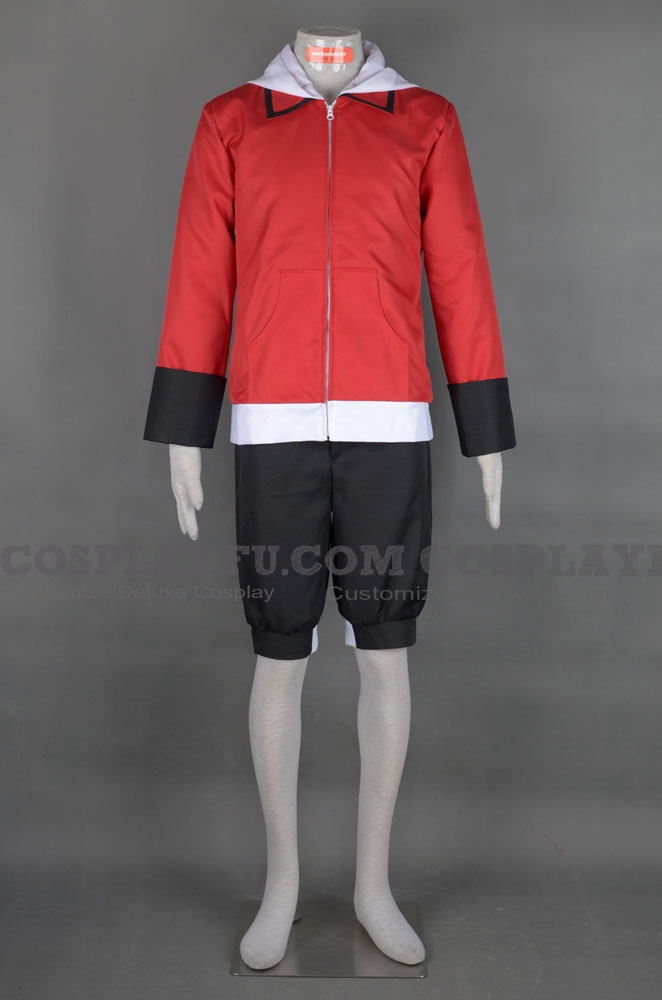 Ethan Cosplay Costume from Pokemon