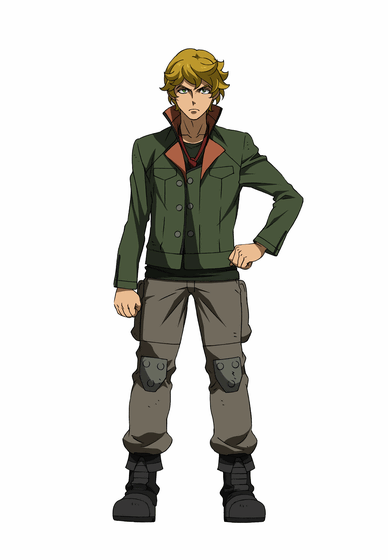 Eugene Cosplay Costume from Mobile Suit Gundam Iron Blooded Orphans
