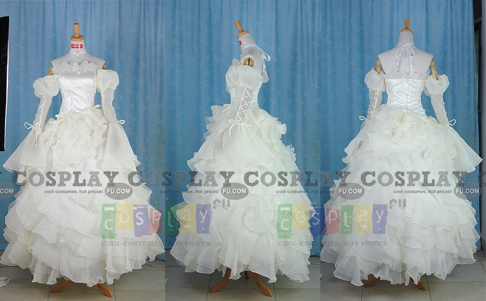 Code Geass Euphemia Li Britannia Costume (DVD Cover Dress)